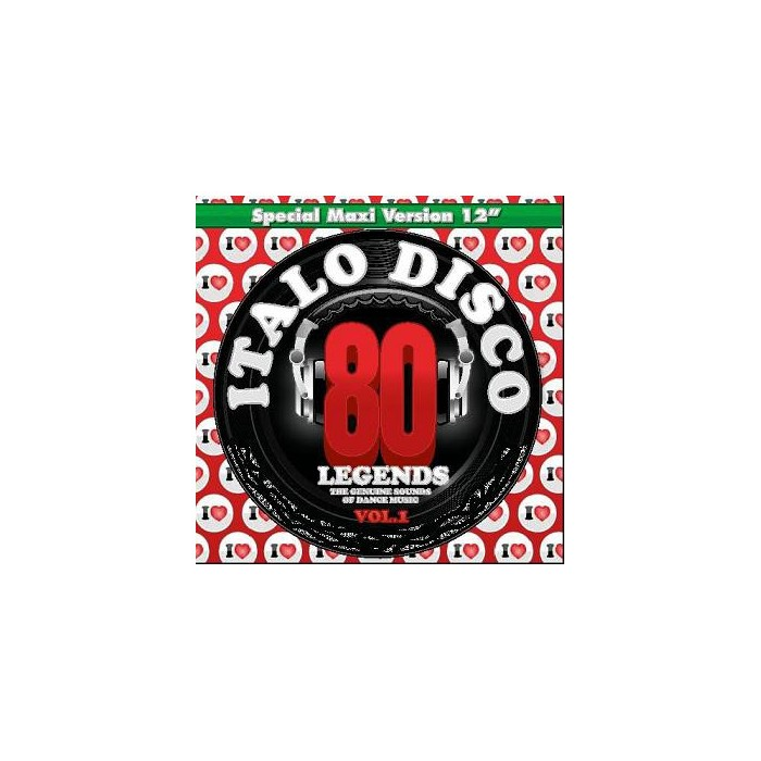 I LOVE ITALO DISCO LEGENDS Vol.1