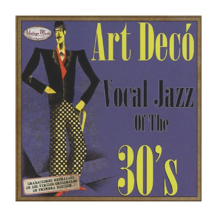 ART DECO VOCAL JAZZ 30'S