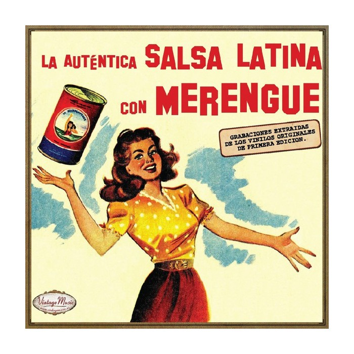 LA AUTENTICA SALSA LATINA CON MERENGUE