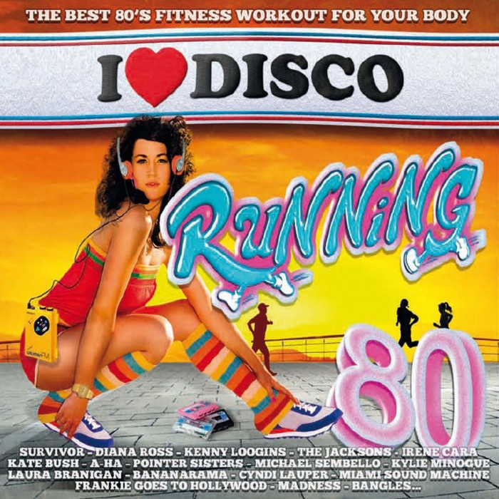 I LOVE DISCO RUNNING 80'S