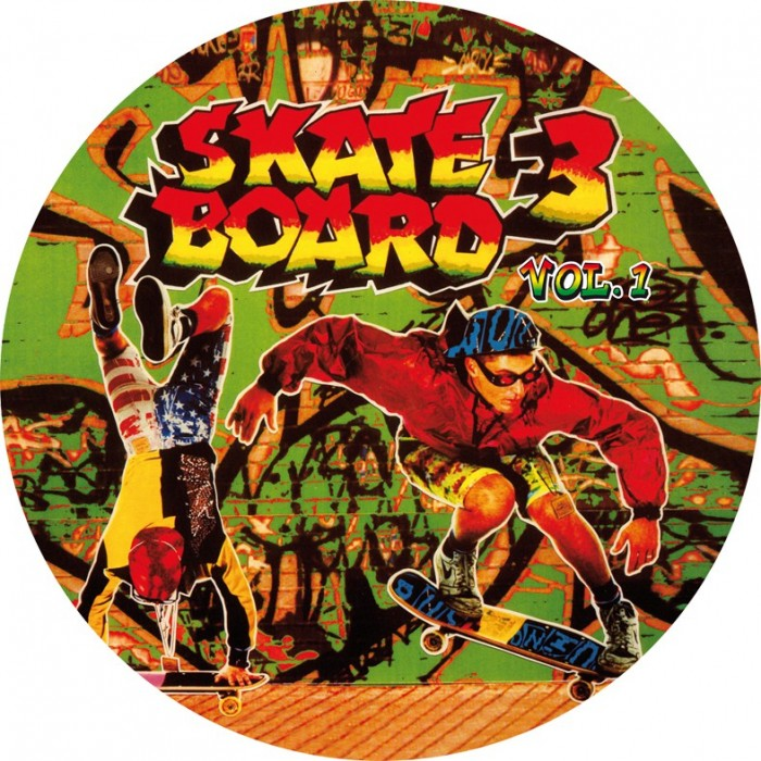SKATE BOARD 3 Vol.1 (Picture Disc) VINYL