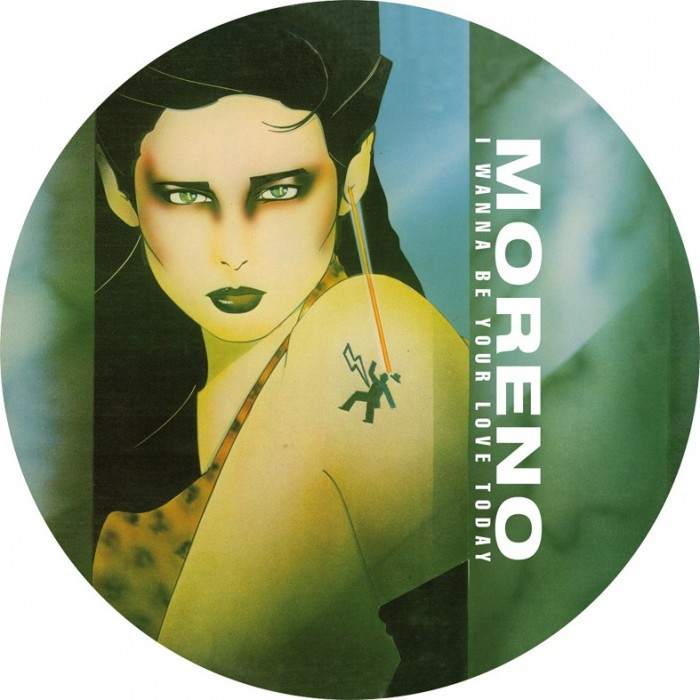 MORENO - I WANNA BE YOUR LOVER TODAY (Picture Disc) VINYL