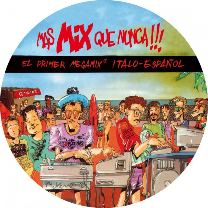 MAS MIX QUE NUNCA (Picture Disc) VINYL