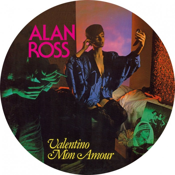 ALAN ROSS - VALENTINO MON AMOUR (Picture Disc) VINYL