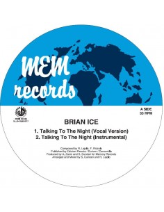 BRIAN ICE - TALKING TO THE NIGHT (Picture Disc) VINYL