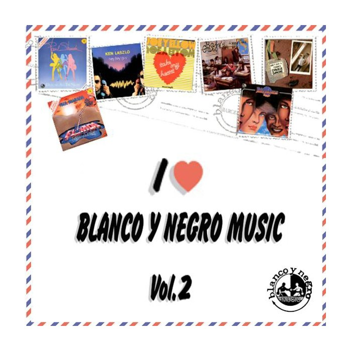 I LOVE BLANCO Y NEGRO MUSIC Vol.2