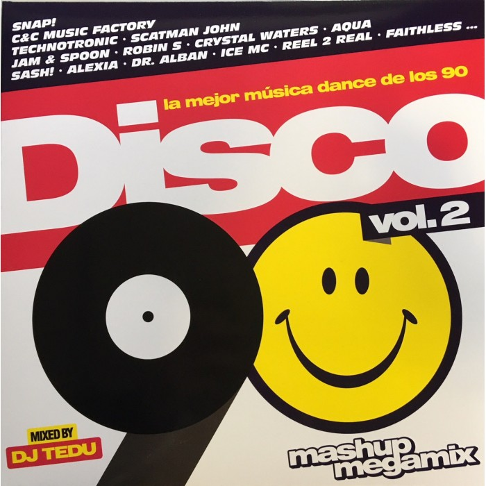 DISCO 90 Vol.2-LP