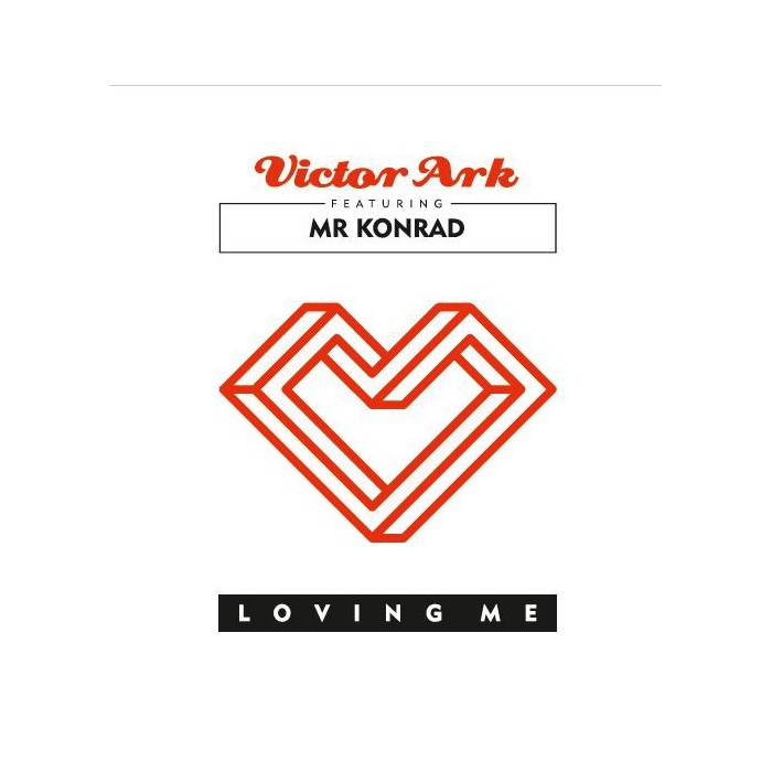 VICTOR ARKT FEAT. MR KONRAD - LOVING ME (RED VINYL)