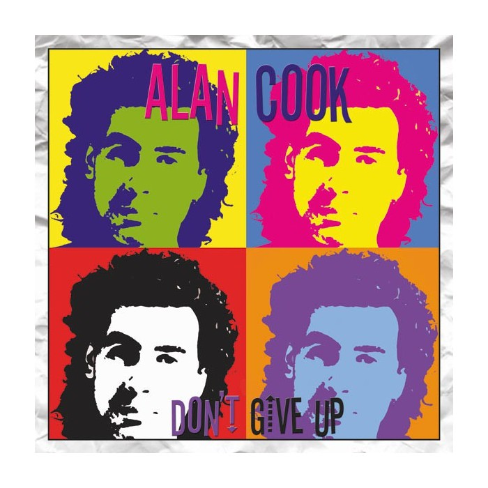 ALAN COOK - DON'T GIVE UP (TRANSPARENT YELLOW VINYL)