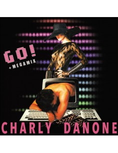 CHARLY DANONE - GO + MEGAMIX (PINK MARBLED VINYL)