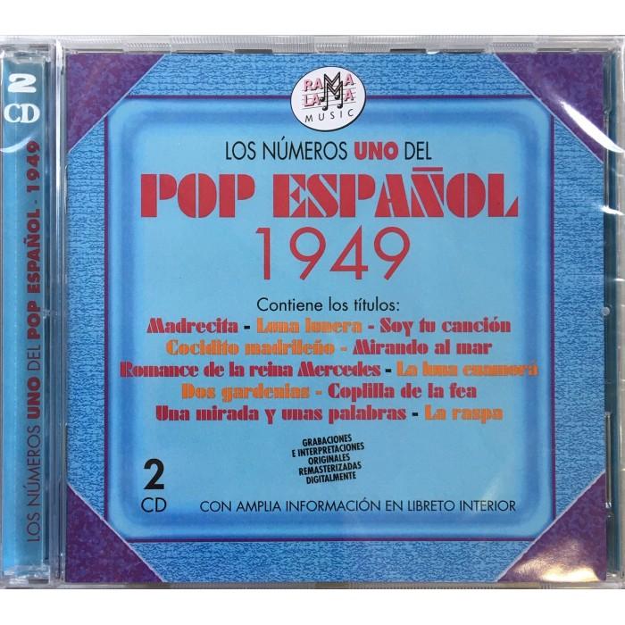 LOS NUMEROS UNO DEL POP ESPAÑOL 1949