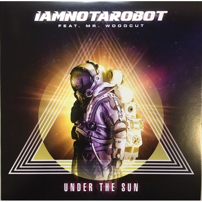 IAMNOTAROBOT FEAT MR WOODCUT - UNDER THE SUN (TRANSPARENT VINYL)