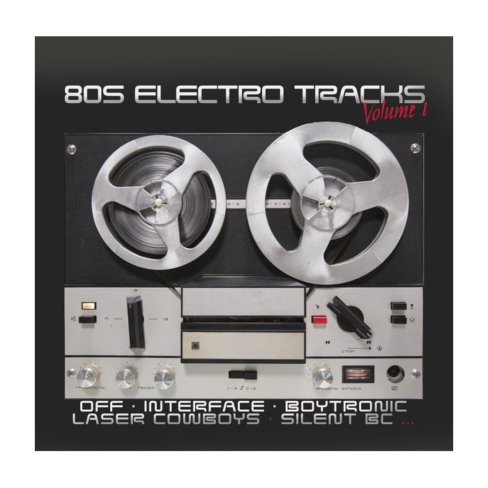 80s ELECTRO TRACKS Vol.1 - CD