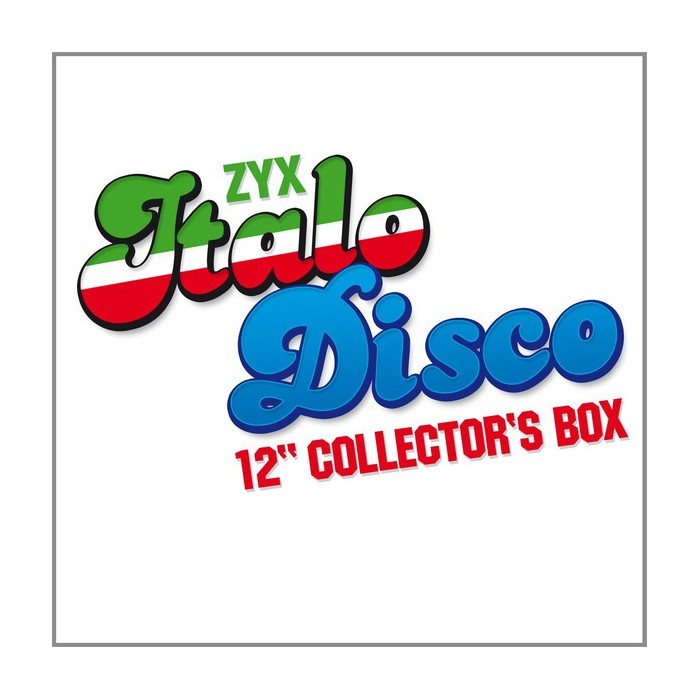ZYX ITALO DISCO 12 INCH COLLECTOR'S BOX Vol.1