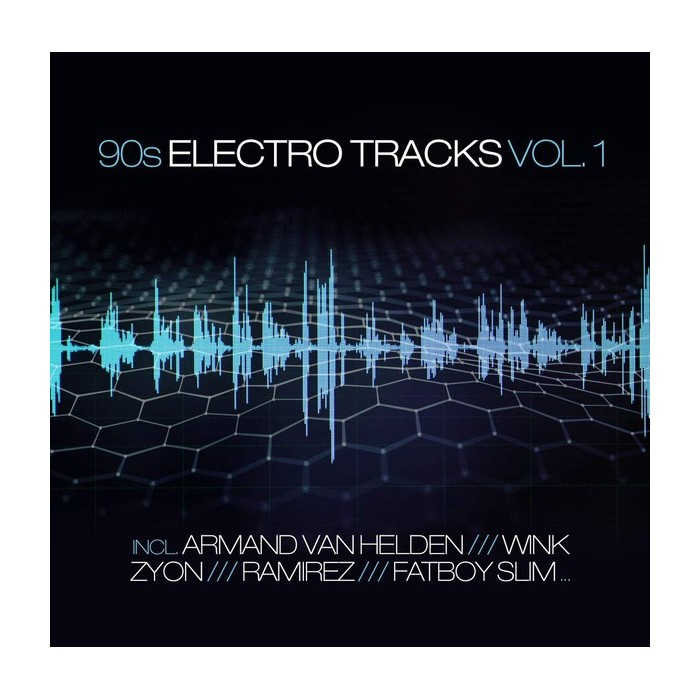 90s ELECTRO TRACKS Vol.1 - CD