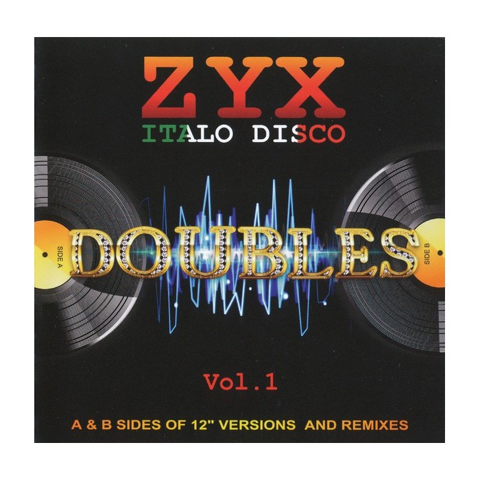 ZYX ITALO DISCO DOUBLES VOL.1 - 2CD