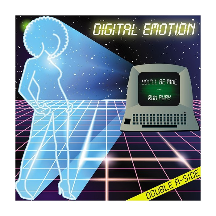 DIGITAL EMOTION - YOU'LL BE MINE / RUN AWAY - YELLOW VINYL