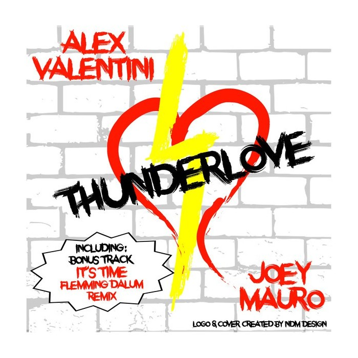 ALEX VALENTINI - THUNDERLOVE (YELLOW VINYL)
