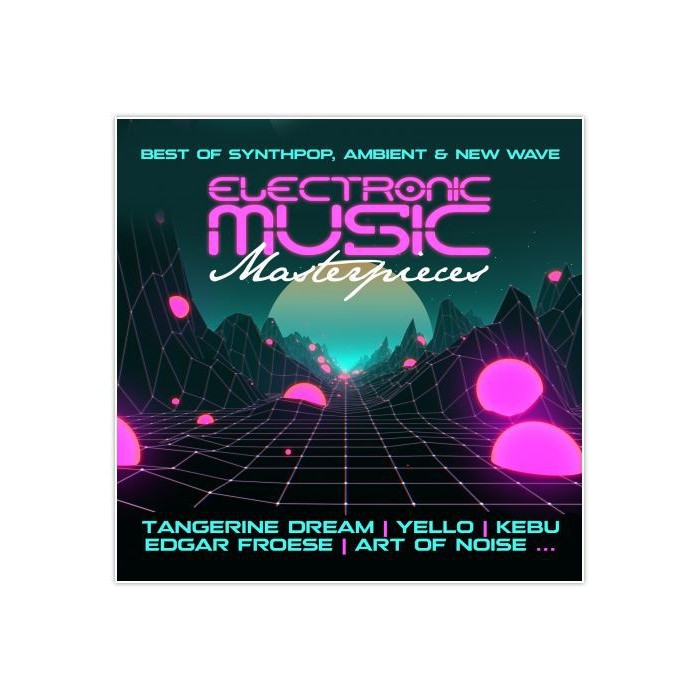 ELECTRONIC MUSIC MASTERPIECES - CD
