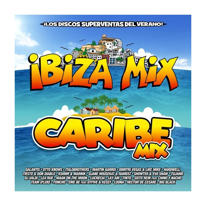 IBIZA MIX + CARIBE MIX 2016