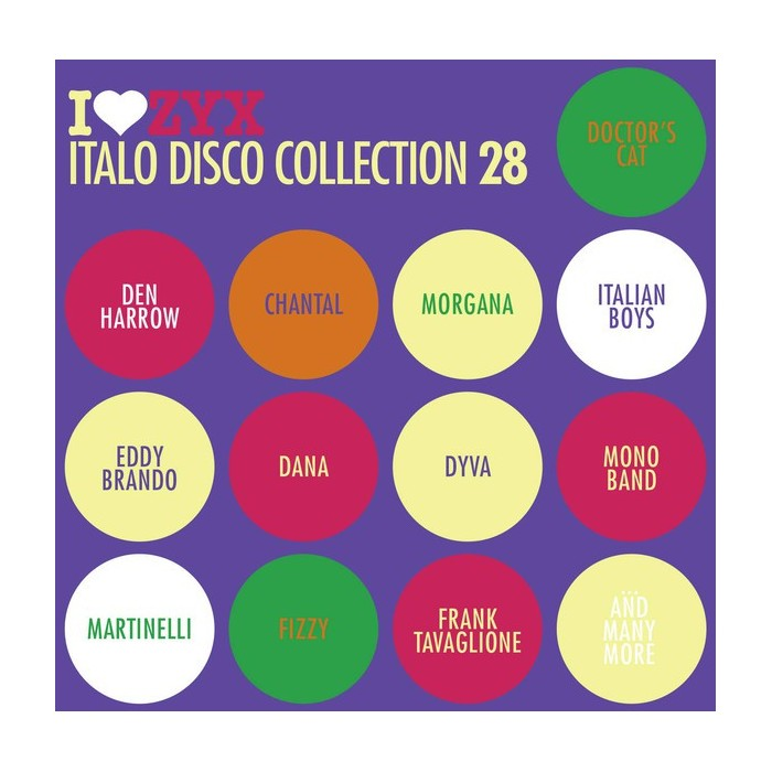 ZYX ITALO DISCO COLLECTION 28