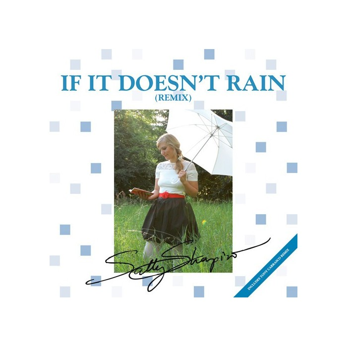 SALLY SHAPIRO - IF IT DOESN'T RAIN (REMIX) - VINYL