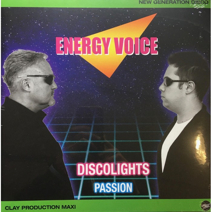 ENERGY VOICE - DISCOLIGHTS / PASSION - VINYL
