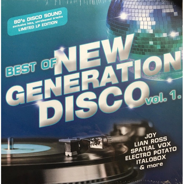 BEST OF NEW GENERATION DISCO Vol.1 - VINYL