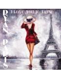 RYAN PARIS - I LOVE YOU / JE T'AIME (PURPLE VINYL)