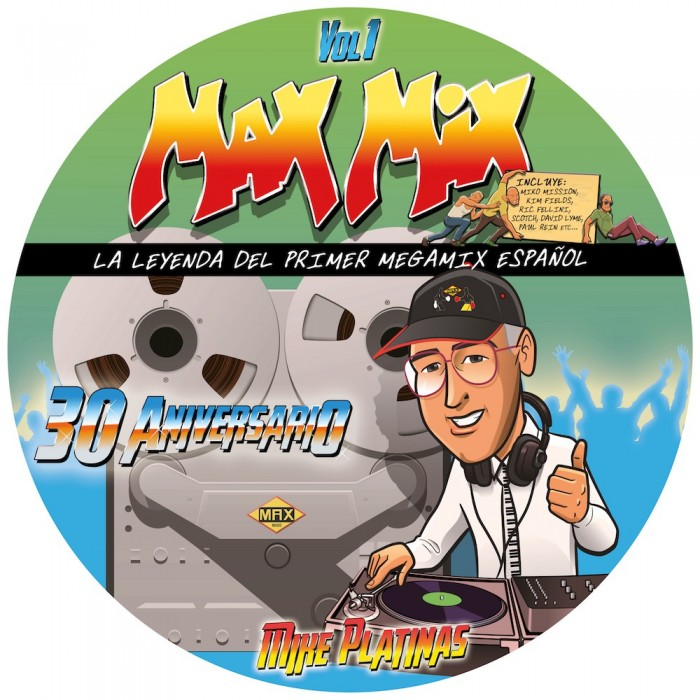 MAX MIX 30 ANIVERSARIO Vol.1 (Picture Disc) - VINYL