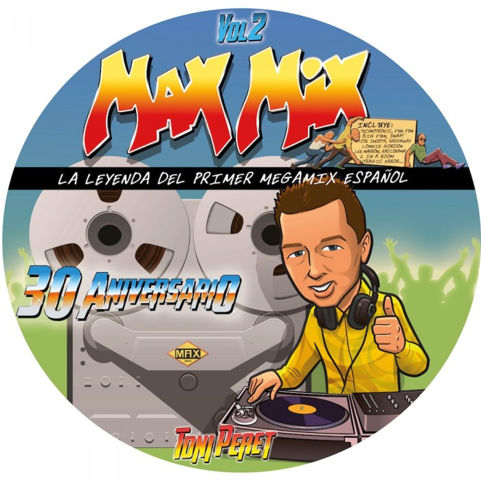 MAX MIX 30 ANIVERSARIO Vol.2 (Picture Disc) - VINYL