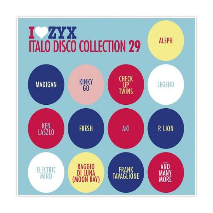 ZYX ITALO DISCO COLLECTION VOL.29 (3CD)