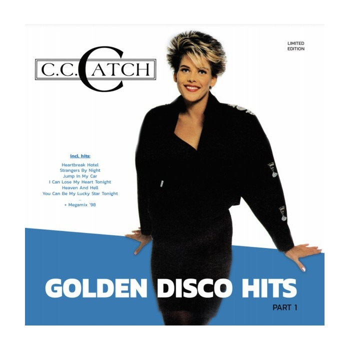 C.C. CATCH - GOLDEN DISCO HITS (PART 1) (VINYL)
