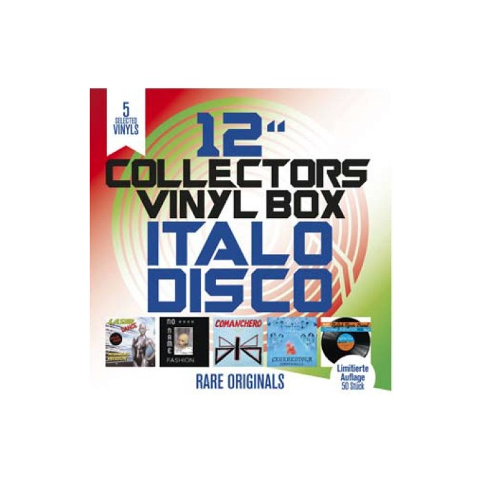 "12"" COLLECTOR'S VINYL BOX (5 VINYL PACK)"
