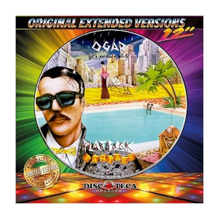 0'GAR / WHIS KEY - PLAYBACK FANTASY / ORIENT EXPRESS (PICTURE DISC)