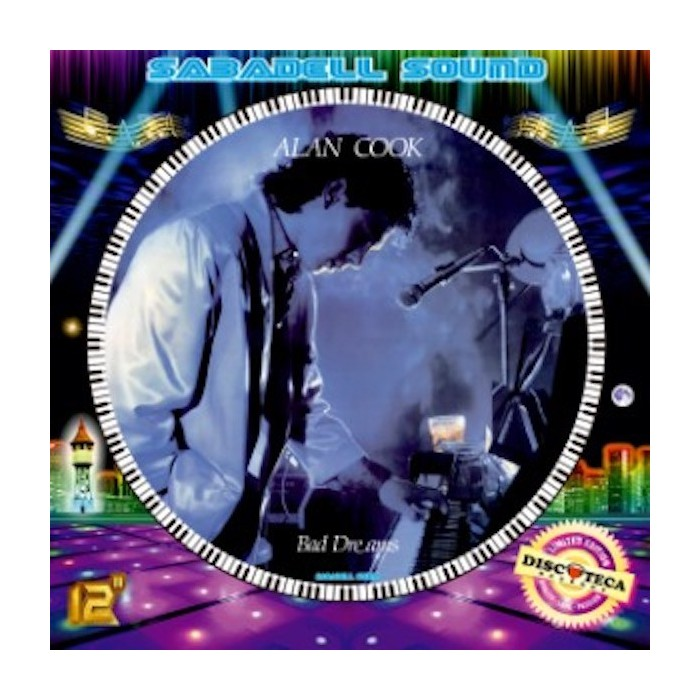 ALAN COOK - BAD DREAMS / RUNNING AWAY (PICTURE DISC)