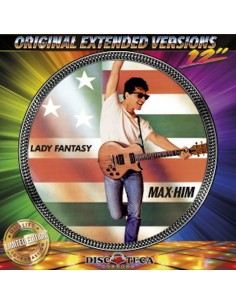 MAX-HIM - LADY FANTASY / NO ESCAPE (PICTURE DISC)