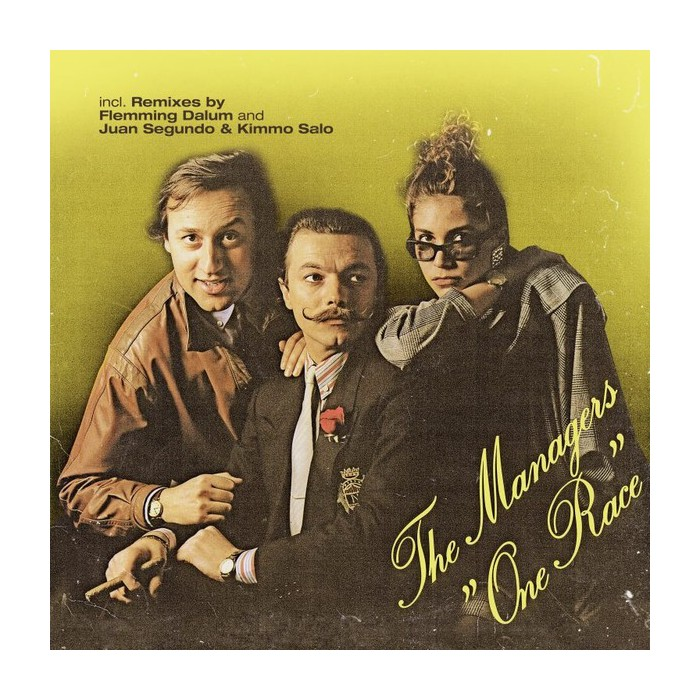 THE MANAGERS - ONE RACE (VINYL)