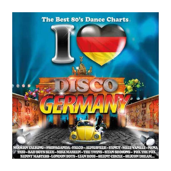 I LOVE DISCO GERMANY 80'S