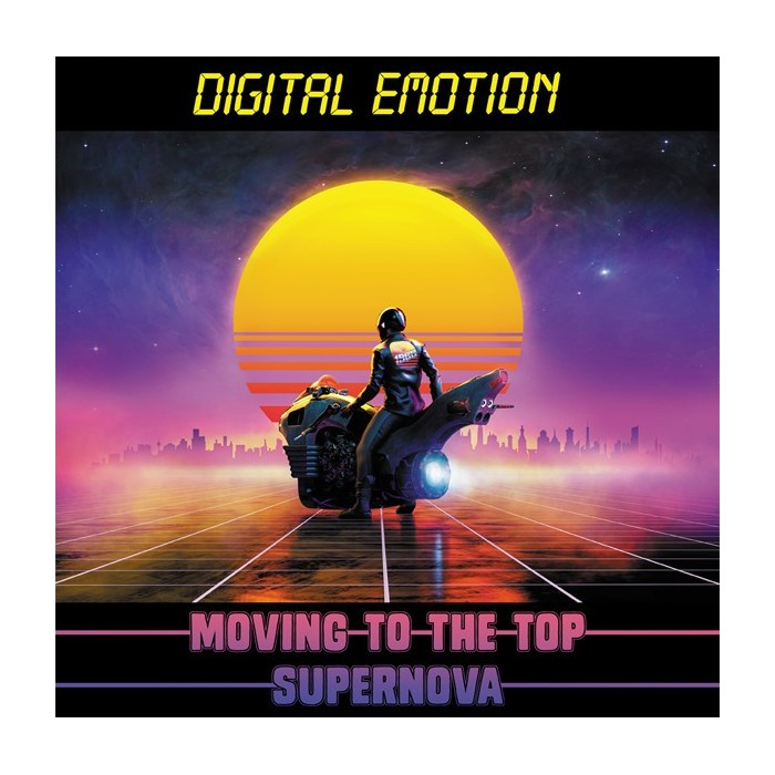 DIGITAL EMOTION - MOVING TO THE TOP (VINYL)