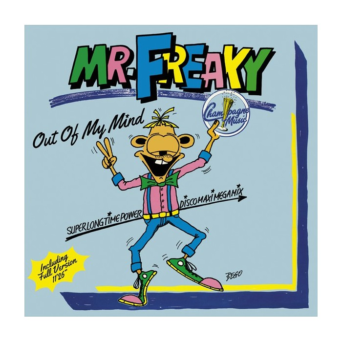 MR. FREAKY - OUT OF MY MIND (VYNIL)