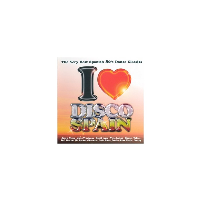 I LOVE DISCO SPAIN Vol.1