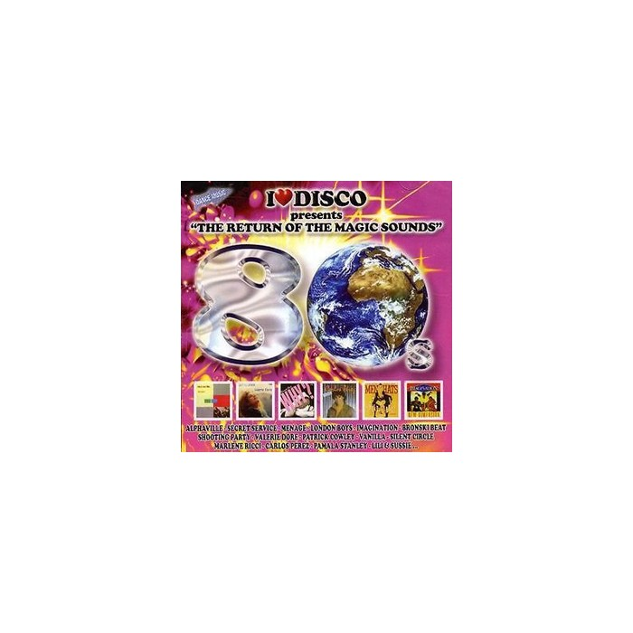 I LOVE DISCO 80'S Vol.3